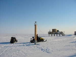 Remote GPS station in Barrow, Alaska.